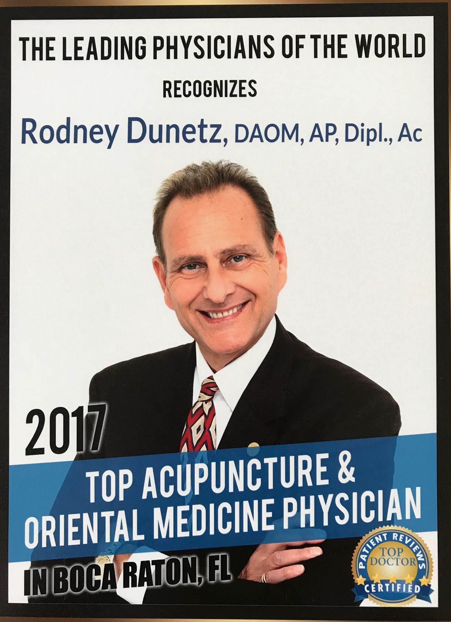 Meet Dr. Rodney Dunetz, DAOM – Voyage MIA interview
